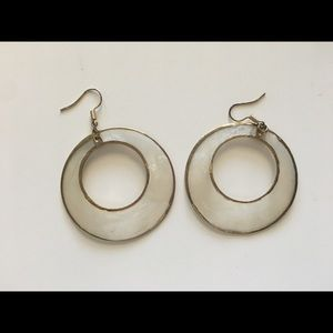 Jewelry - 3 for $25 - Gold Rimmed Loop Dangly Earrings